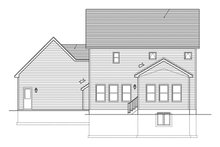 House Plan Design - Traditional Exterior - Rear Elevation Plan #1010-119