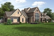 European Style House Plan - 4 Beds 4.5 Baths 7149 Sq/Ft Plan #48-689 Exterior - Other Elevation