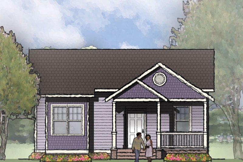 House Plan Design - Craftsman Exterior - Front Elevation Plan #936-18