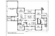 Traditional Style House Plan - 4 Beds 3 Baths 4579 Sq/Ft Plan #70-1157 Floor Plan - Main Floor Plan