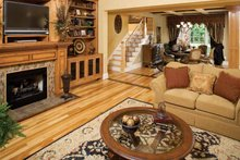 Country Interior - Family Room Plan #929-636