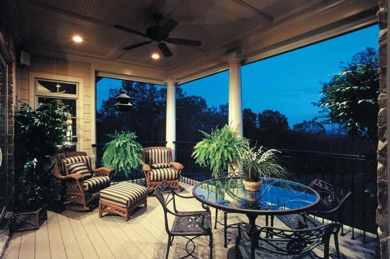 European Exterior - Outdoor Living Plan #437-66 - Houseplans.com