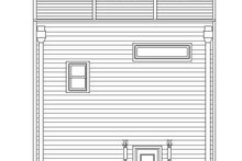 House Plan Design - Contemporary Exterior - Rear Elevation Plan #932-319