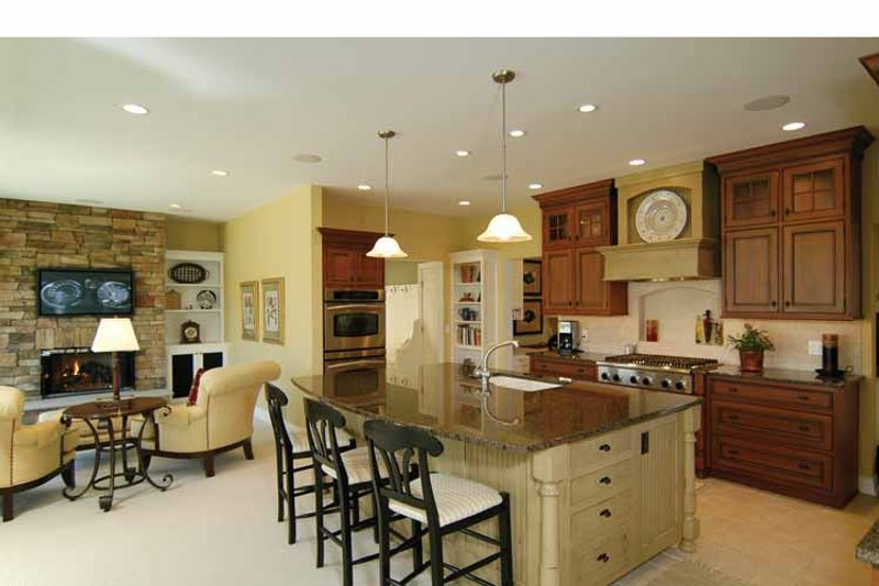 Traditional Interior - Kitchen Plan #928-222 - Houseplans.com