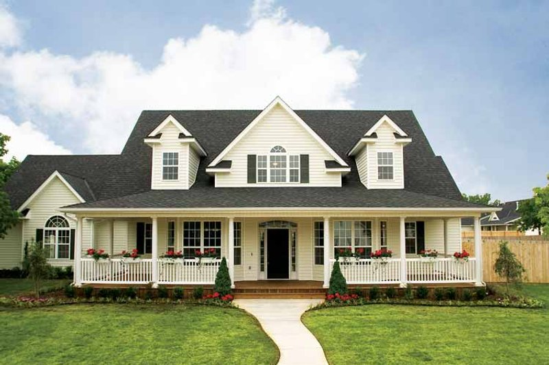 Country Exterior - Front Elevation Plan #929-699 - Houseplans.com