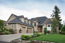 Dream House Plan - Colonial Exterior - Front Elevation Plan #48-829