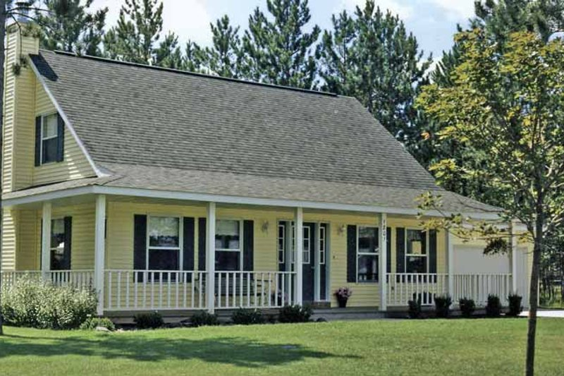 Home Plan - Country Exterior - Front Elevation Plan #314-247