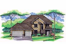 House Plan Design - Colonial Exterior - Front Elevation Plan #51-1002