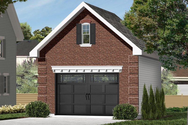Dream House Plan - Exterior - Front Elevation Plan #23-2451