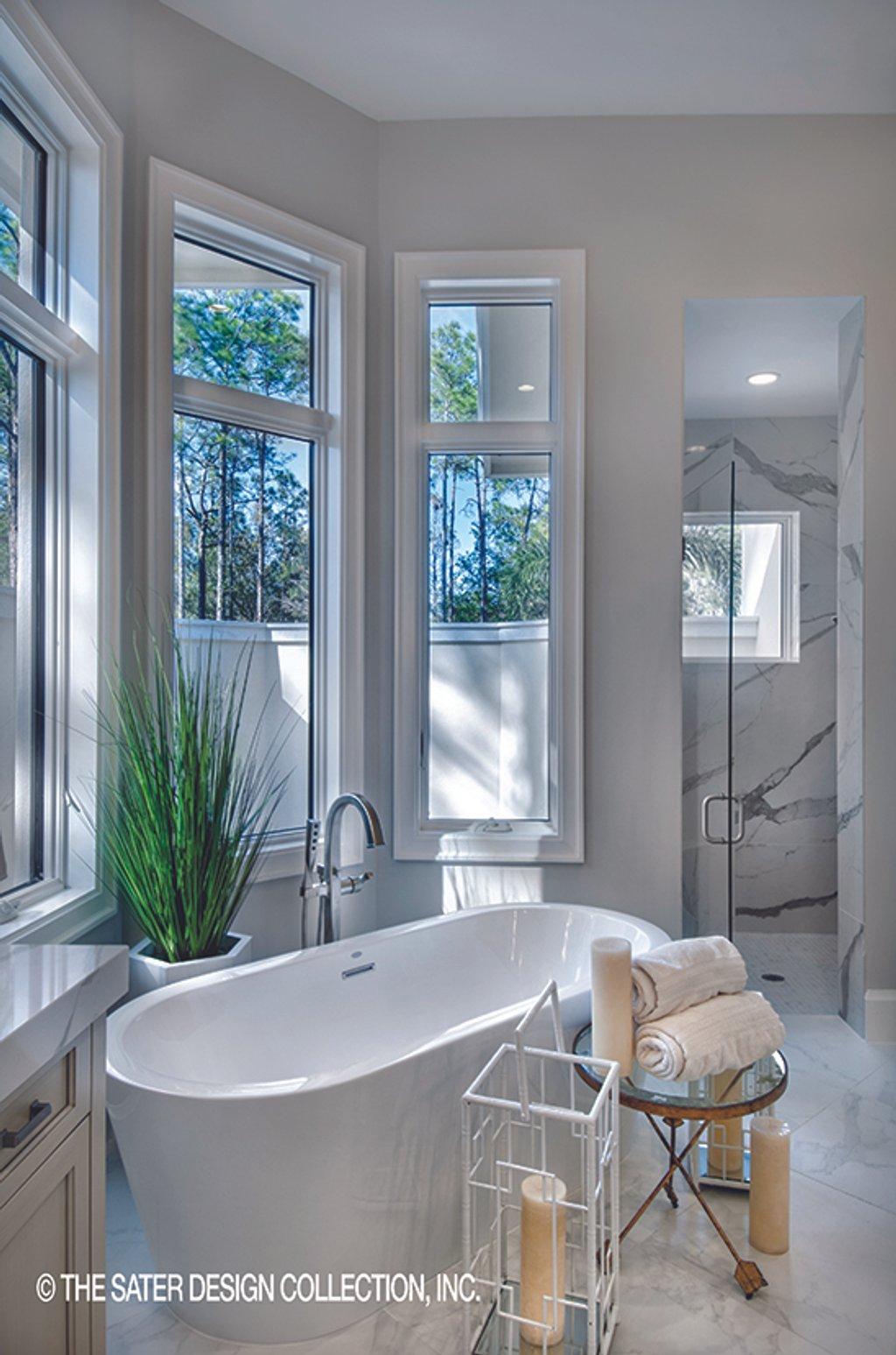 Mediterranean Style House Plan - 4 Beds 4.5 Baths 4030 Sq/Ft Plan ...