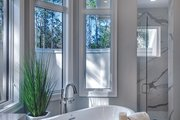 Mediterranean Style House Plan - 4 Beds 4.5 Baths 4030 Sq/Ft Plan #930-473 Interior - Master Bathroom