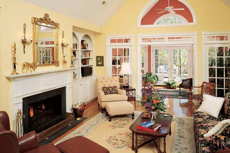 Country Interior - Family Room Plan #929-153 - Houseplans.com