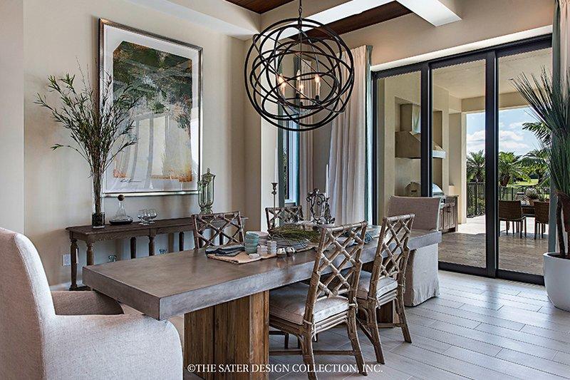 Mediterranean Interior - Dining Room Plan #930-458 - Houseplans.com