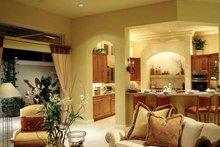 House Plan Design - Mediterranean Interior - Family Room Plan #930-104