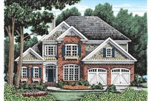House Plan Design - Country Exterior - Front Elevation Plan #927-918