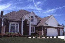 Home Plan Design - Traditional Exterior - Front Elevation Plan #20-294