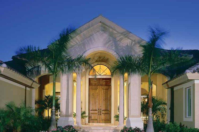 Architectural House Design - Mediterranean Exterior - Front Elevation Plan #930-188