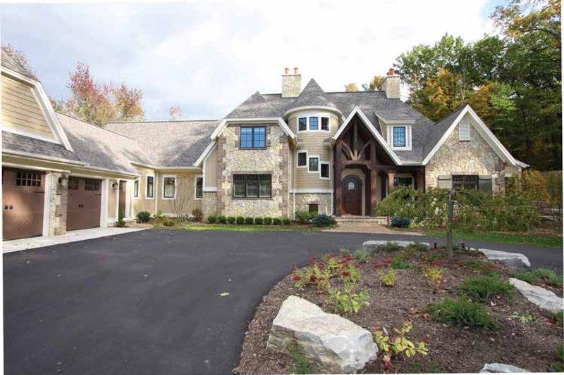 House Plan Design - European Exterior - Front Elevation Plan #928-178