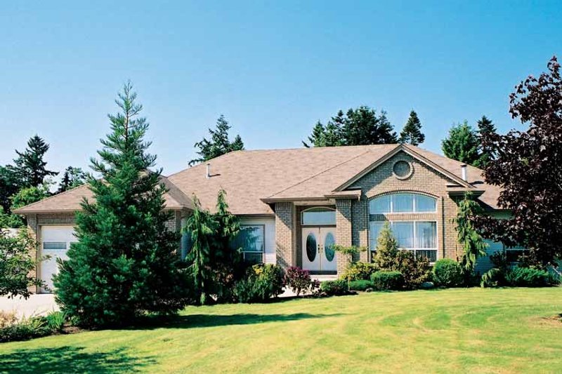House Blueprint - Ranch Exterior - Front Elevation Plan #47-848