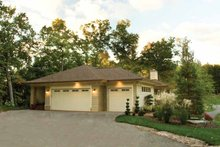 Architectural House Design - Prairie Exterior - Other Elevation Plan #928-50
