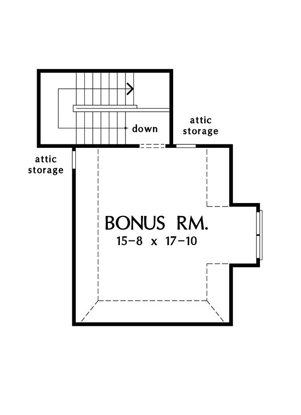 Country Floor Plan - Other Floor Plan Plan #929-985