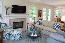 Country Interior - Family Room Plan #928-278