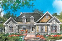 Country Exterior - Front Elevation Plan #929-638