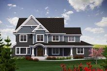 Dream House Plan - Craftsman Exterior - Front Elevation Plan #70-1226