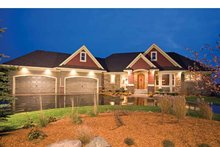 Dream House Plan - European Exterior - Front Elevation Plan #51-1125
