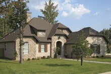 Country Exterior - Front Elevation Plan #946-4