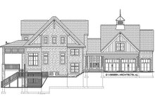 Country Exterior - Front Elevation Plan #928-297