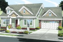 Home Plan Design - Country Exterior - Front Elevation Plan #513-2058