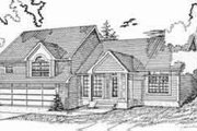 Traditional Style House Plan - 3 Beds 2 Baths 1862 Sq/Ft Plan #405-109