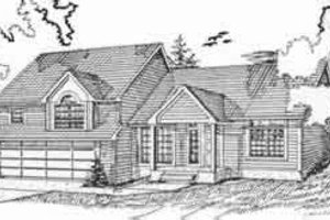 Traditional Exterior - Front Elevation Plan #405-109