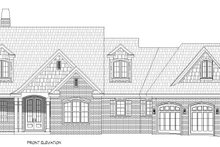House Plan Design - Traditional Exterior - Front Elevation Plan #932-341