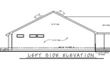 House Plan Design - Farmhouse Exterior - Other Elevation Plan #20-2440