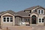 Mediterranean Style House Plan - 4 Beds 3.5 Baths 3280 Sq/Ft Plan #24-225 Exterior - Front Elevation