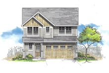 Craftsman Exterior - Front Elevation Plan #53-626