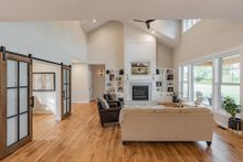Dream House Plan - Farmhouse Interior - Family Room Plan #1070-42