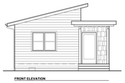 Modern Style House Plan - 1 Beds 1 Baths 320 Sq/Ft Plan #890-2 Exterior - Other Elevation
