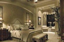 Mediterranean Interior - Master Bedroom Plan #930-416