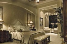 House Plan Design - Mediterranean Interior - Master Bedroom Plan #930-416