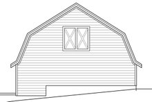 House Plan Design - Country Exterior - Other Elevation Plan #124-945