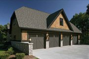 Craftsman Style House Plan - 4 Beds 3.5 Baths 4968 Sq/Ft Plan #928-32 Exterior - Other Elevation