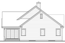 Country Exterior - Rear Elevation Plan #23-2574