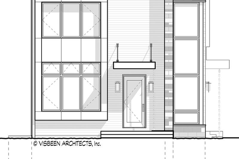 Contemporary Exterior - Rear Elevation Plan #928-296 - Houseplans.com