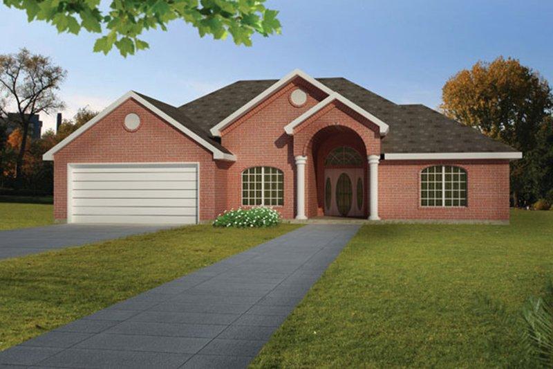 House Plan Design - Ranch Exterior - Front Elevation Plan #1061-14