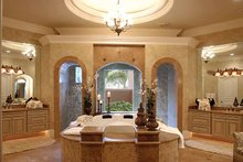 Mediterranean Interior - Bathroom Plan #1017-1