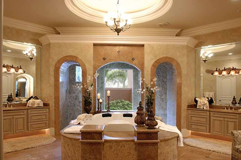Mediterranean Interior - Bathroom Plan #1017-1 - Houseplans.com
