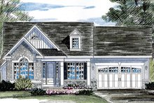 Home Plan - Ranch Exterior - Front Elevation Plan #316-284
